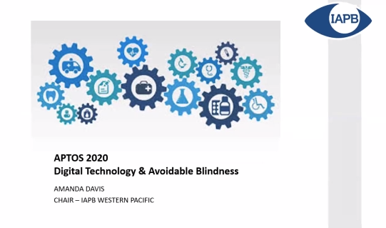 Amanda Davis – Digital Technology & Avoidable Blindness