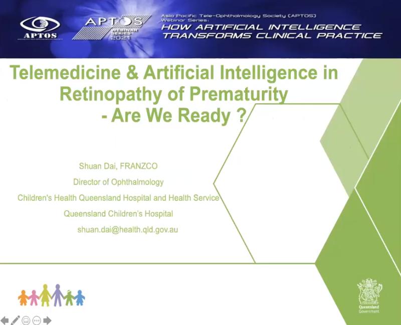 Telemedicine & AI in ROP
