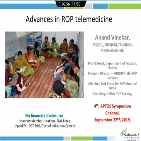 Anand Vinekar – Telemedicine in ROP