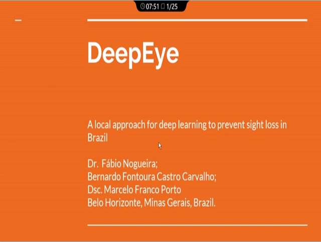 Fábio Nogueira – Deep Eye: A Local Approach to Deep Learning for Macular Edema & Macular Degeneration Diagnosis in Brazil