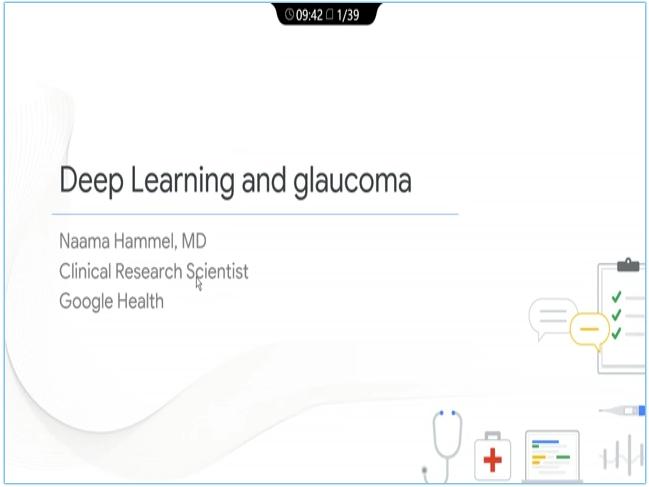Naama Hammel – AI in Glaucoma