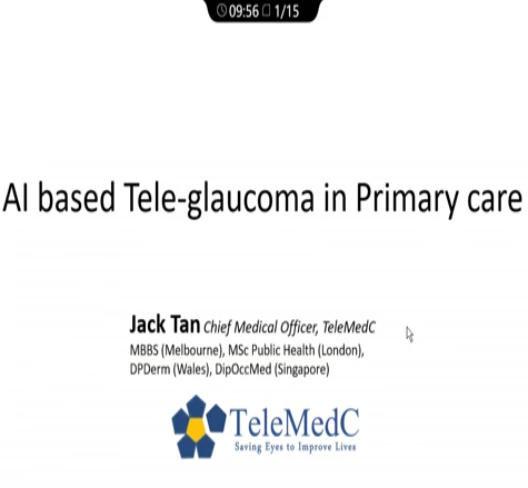 Jack Tan – AI for Glaucoma in Primary Settings