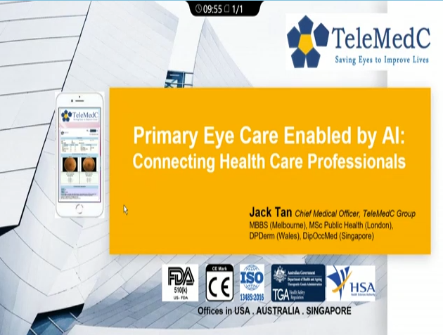 Jack Tan – Primary Eye Care Enabled by AI: Connecting Healthcare Professionals