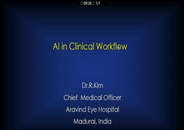 Kim Ramasamy – AI in Clinical Workflow
