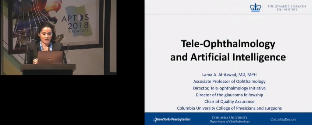 Lama Al-Aswad – Tele-Ophthalmology and Artificial Intelligence