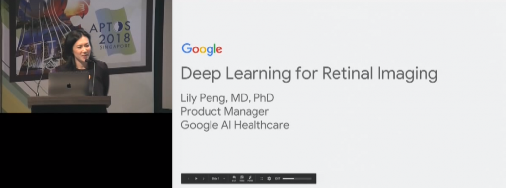 Lily Peng – Deep Learning System for Retinal Imaging