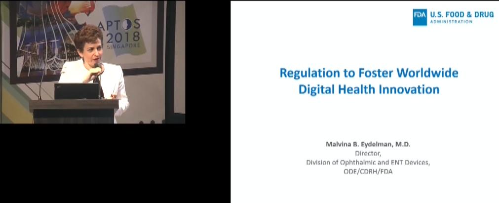 Malvina Eydelman – Regulation to Foster Worldwide Digital Health Innovation (FDA)