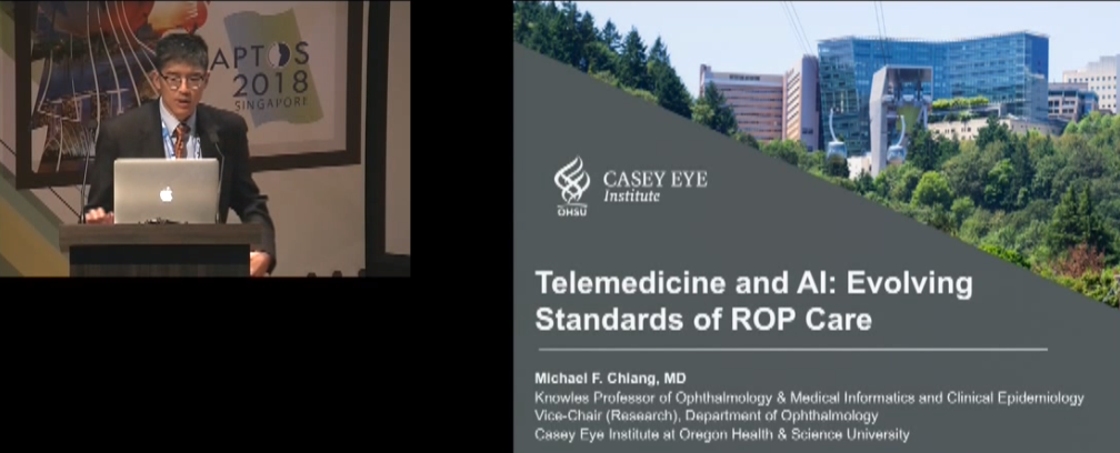 Michael Chiang – Telemedicine & Artificial Intelligence for Retinopathy of Prematurity: Evolution in the Standard of Care