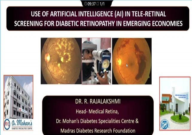 R. Rajalakshmi – Use of AI in Tele-Retinal Screening for DR in Emerging Economies