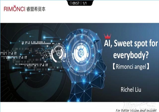 Richel Liu – AI: Sweet Spot for Everybody?