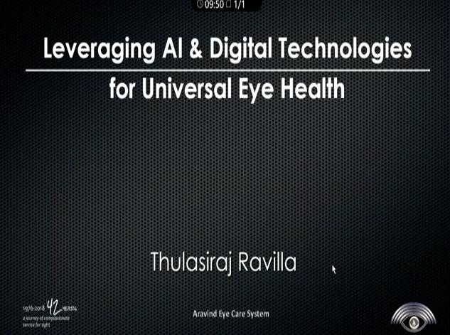 R. D. Thulasiraj – Leveraging AI for Universal Eye Health